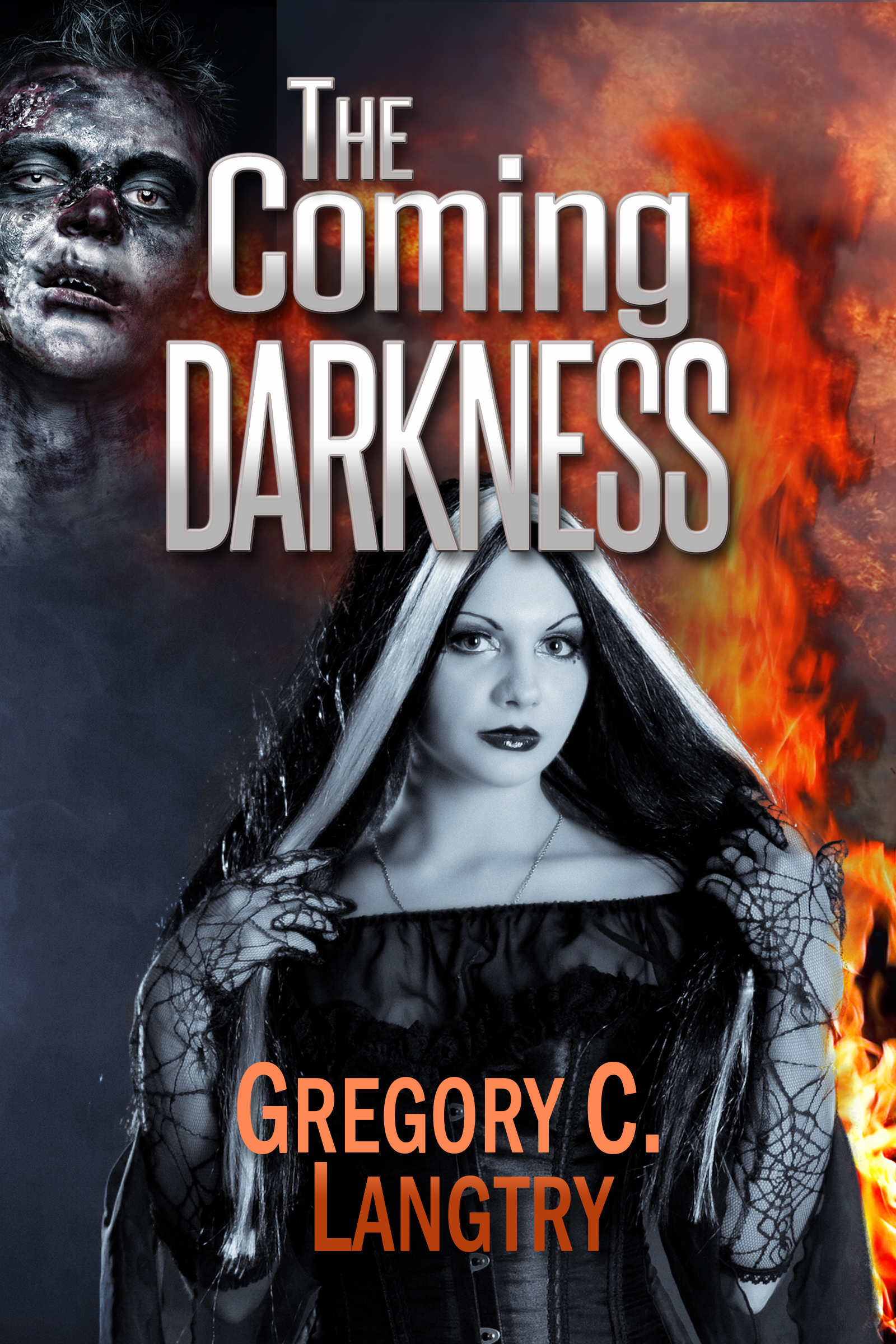 The Coming Darkness - The Rogue God Series Book 1 cover